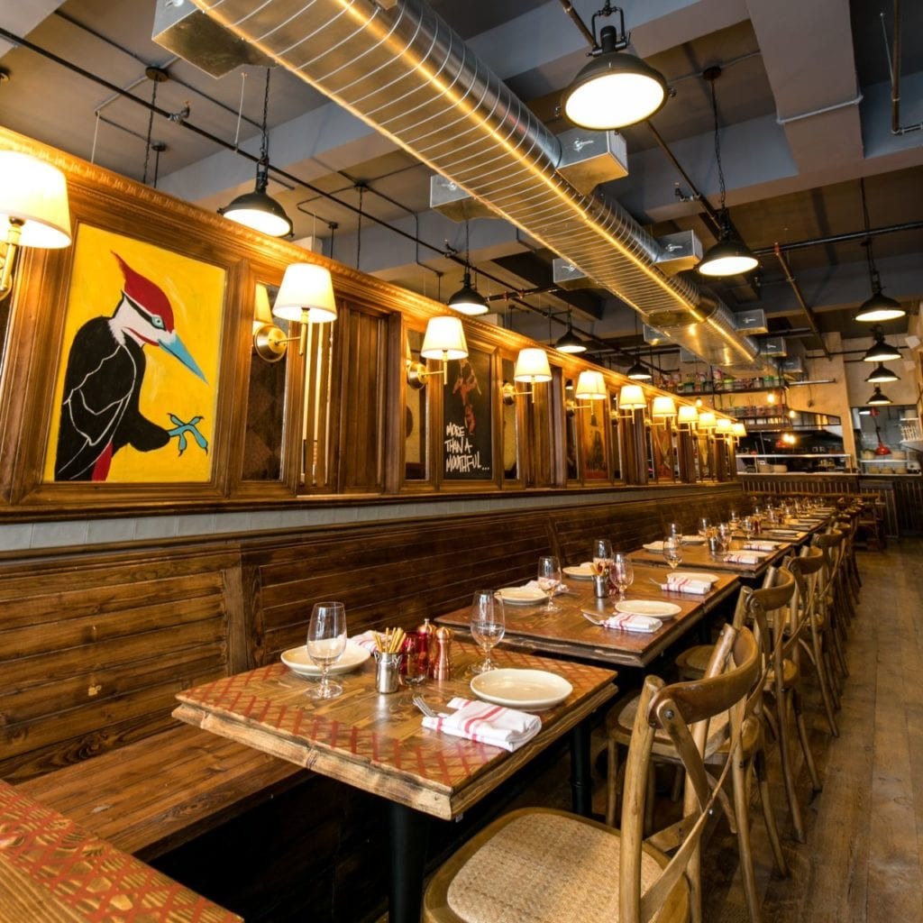 Woodpecker by David Burke - Restaurant Construction - Interior